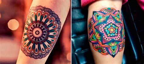 tattoo mandala colorida 18 incr 237 veis tatuagens de mandalas geekness