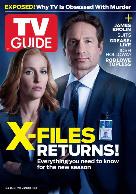 Duchovny Back On Tv by The X Files Returns Mulder And Scully Are Back On The
