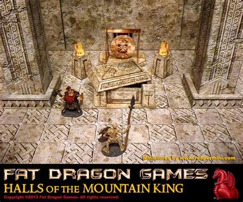 the mountain king this week fat dragon take us into the mines of the