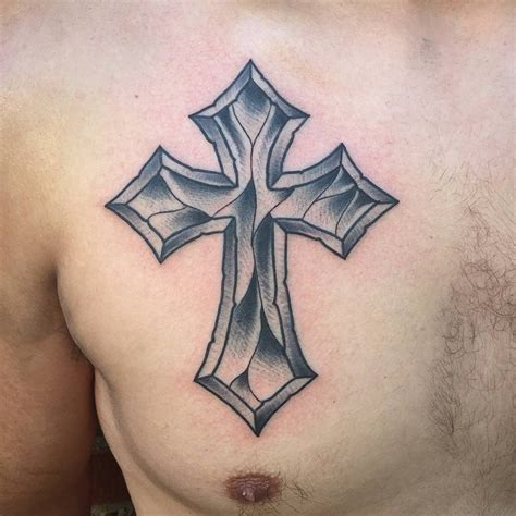 tattoo cross on chest 45 cross tattoo designs ideas design trends premium