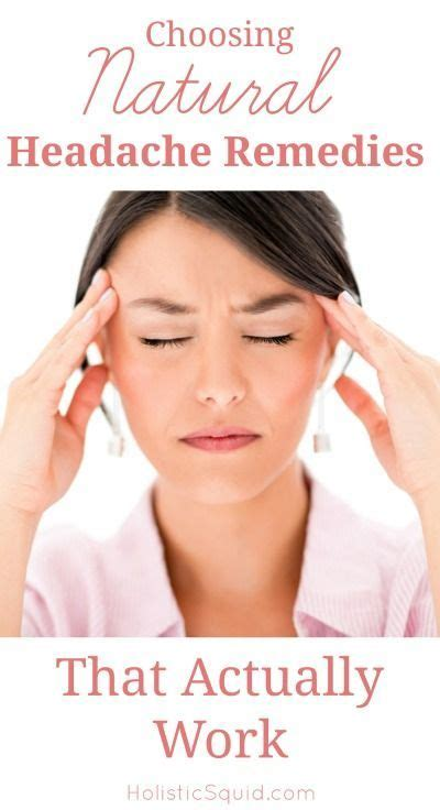 Detox Headache Cure by Best 25 Headache Remedies Ideas On