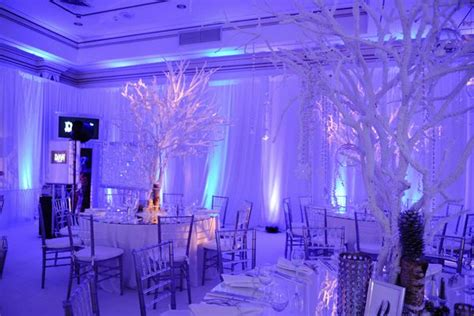 party themes like fire and ice fire ice bat mitzvah tree centerpieces lasting