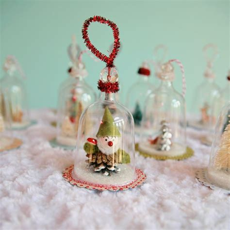 diy vintage inspired bell jar ornaments my so called