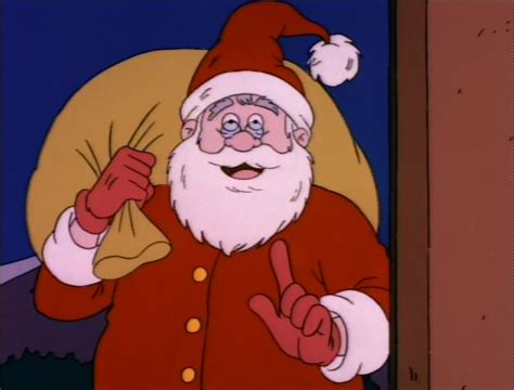 tom arnold beats up barney santa claus nickelodeon fandom powered by wikia