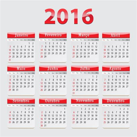 2014 To 2017 Calendar Central Photoshop Base Calend 225 2016 Portugu 234 S