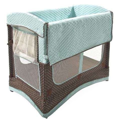 Co Sleeper Convertible Crib Comapre Price Arm S Reach Concepts Mini Arc Convertible Co Sleeper Bassinet Java Dot
