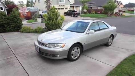 2001 lexus es300 my new 2001 lexus es300 youtube
