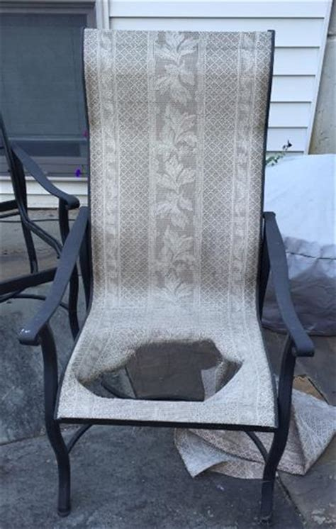 grandle patio furniture grandle patio chair sling replacements in michigan