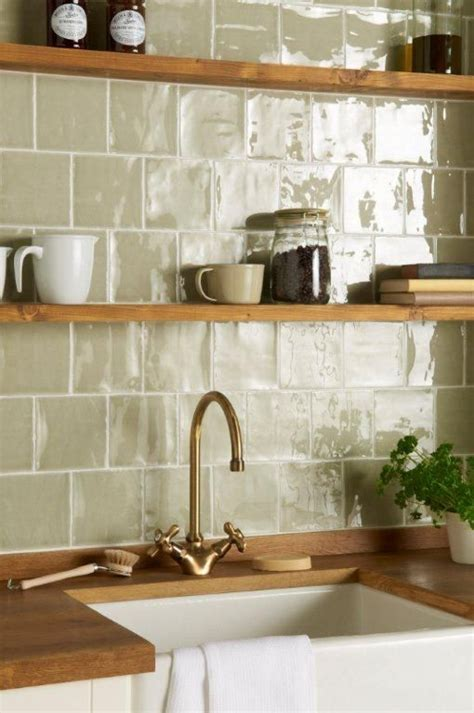 Handmade Tiles Kitchen - splash out on splash backs superior cabinet components