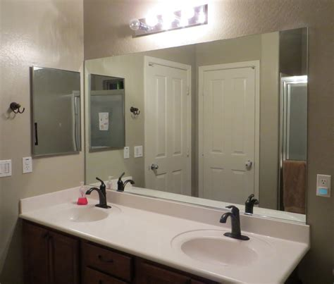Bathroom Mirror Installation Modern Large Bathroom Mirror Doherty House Large Bathroom Mirror In Best Options