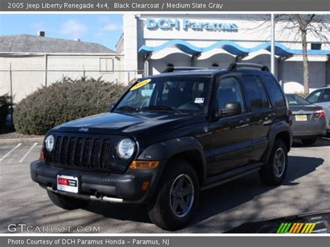 black jeep liberty 2005 black clearcoat 2005 jeep liberty renegade 4x4 medium