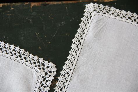 image edge pattern crocheted handkerchief edging alipyper