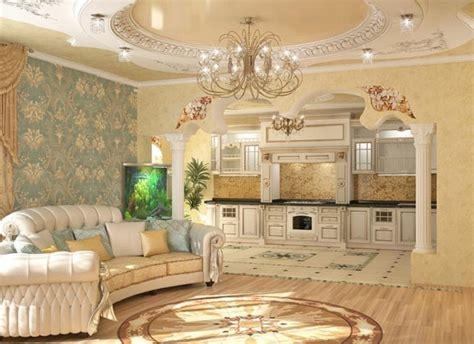 tende stile barocco cucine moderne 2817