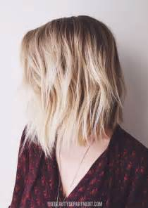 textured shoulder length hair 15 shaggy bob haircut ideas for great style makeovers