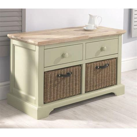 green storage bench florence green storage bench with 2 drawers and baskets