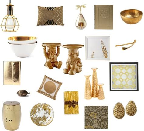 Home Accent Decor Accessories by Shopping For Gold Home Decor Accents Popsugar Home