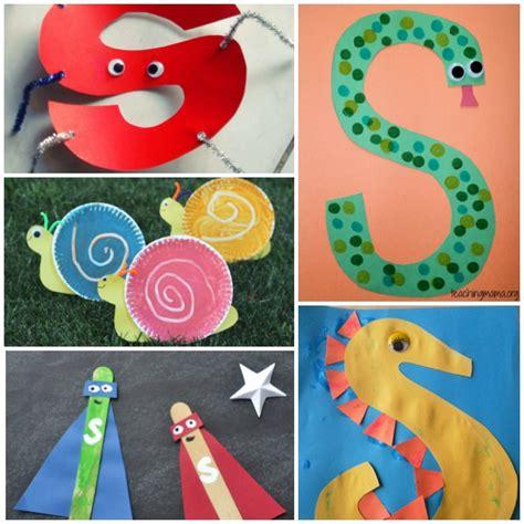 activities crafts 18 letter s activities