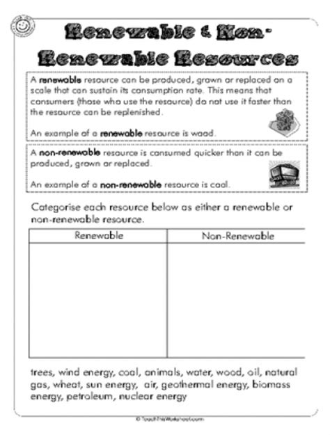 Energy Resources Worksheet by Teach This Worksheets Create And Customise Your Own