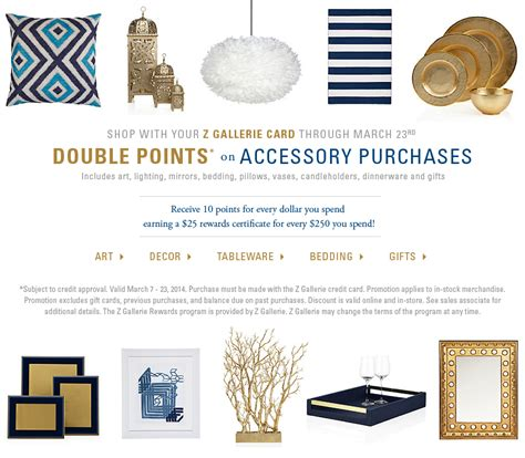 Z Gallerie Gift Card - z gallerie card promotion