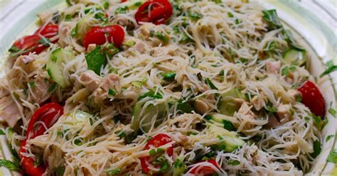 rice noodle salad cooking with larue thai inspired chicken rice noodle salad