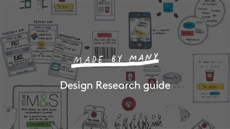 experiment design guide made by many design research guide