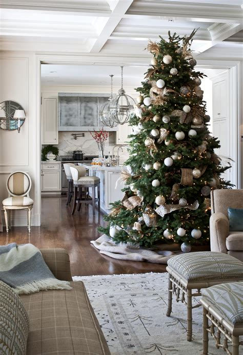 home decore decorating trees traditional home
