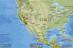 map of recent earthquakes in california m5 2 earthquake shakes california earth earthsky