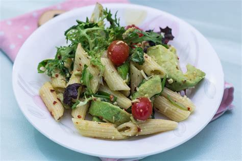delicious pasta salad delicious pasta salad with avocado dressing maya kitchenette