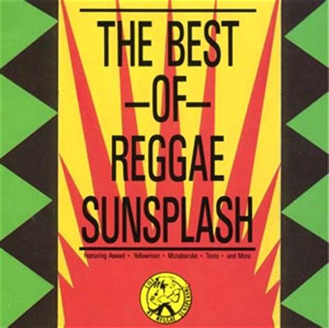 best of reggae 8923 the best of reggae sunsplash