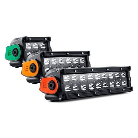 lumen led light bar lumen 174 dual row led light bar with illuminated end caps