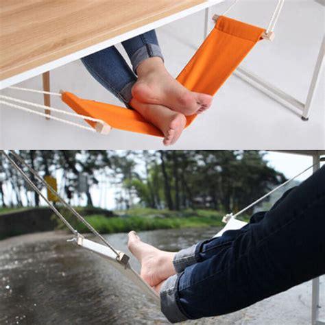 standing desk with foot swing fuut foot rest hammock under desk office footrest mini