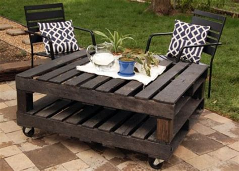 Easy Pallet Coffee Table 21 Ways Of Turning Pallets Into Unique Pieces Of Furniture