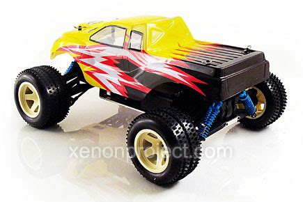 conquistador nitro rc monster acme conquistador monster yellow