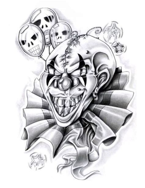 joker tattoo designs black white clown designs black white jpg car tuning