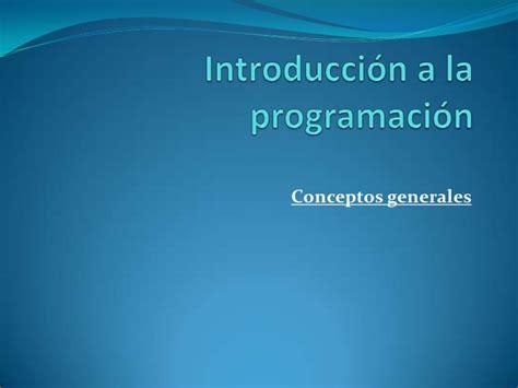 introduccion a la programacion 8479530960 introduccion a la programacion