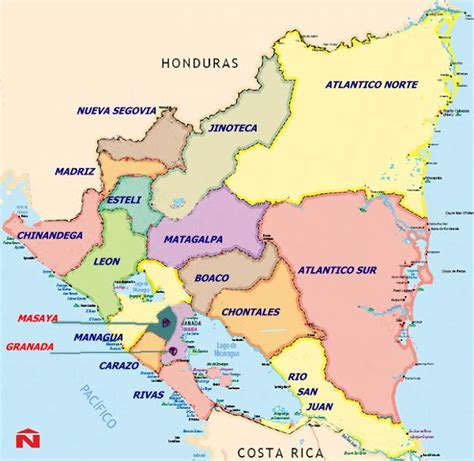 imagenes satelitales nicaragua mapa de nicaragua world map weltkarte peta dunia mapa