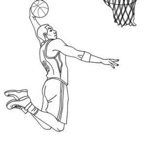 nba cartoon of michael jordan coloring page color luna