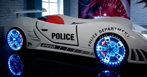 car cing bed speedster police racing car bed car bed shop