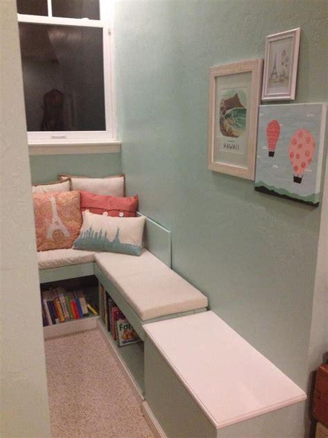 Bookshelf Seat Vintage Travel Themed Nursery Project Nursery