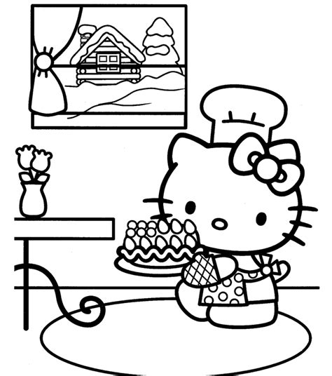 hello kitty coloring pages nerd free coloring pages of hello kitty nerd big to