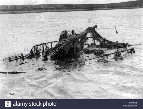 u boat in scapa flow the scuttled german war fleet in scapa flow stock photo