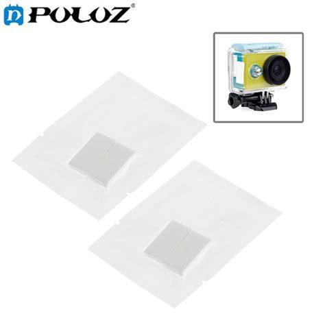Anti Fog Xiaomi Go Pro puluz 12pcs set reusable anti fog drying inserts for gopro sjcam xiaomi yi alex nld
