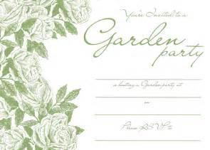 garden invitation template garden invitations templates free images