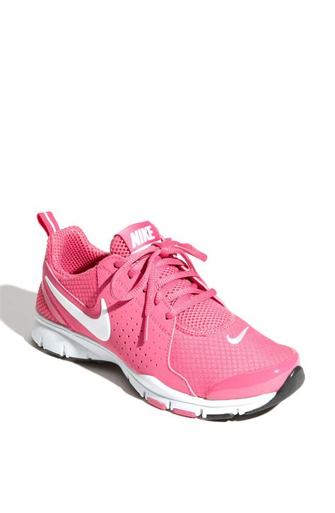 pink nike shoes nike in season tr shoe in pink pink