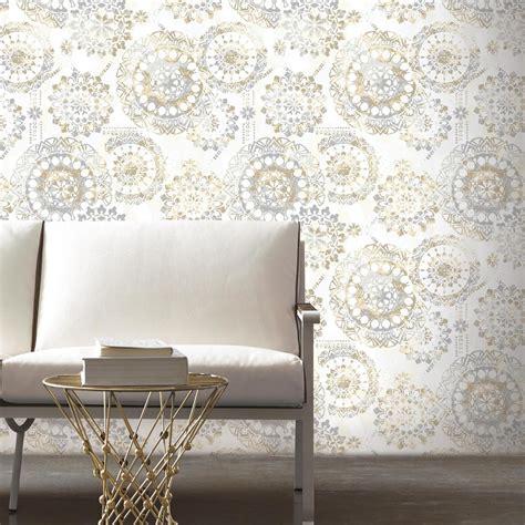 bohemian wallpaper wall roll peel stick vinyl modern