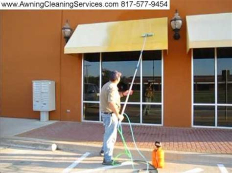 cleaning canvas awnings awning cleaning in dallas fort worth tx removing mold