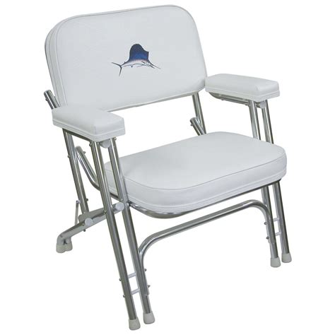 fishing chairs for boats wise 174 offshore folding deck chair 141425 fishing chairs