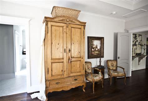 Vintage Linen Closet by Antique Armoire Turned Linen Closet Cedar Hill Farmhouse