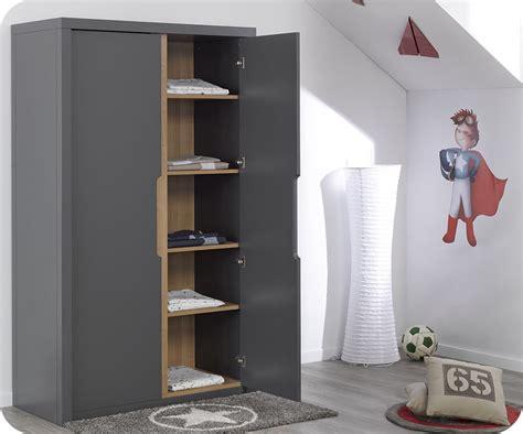 armoire enfant bow grise