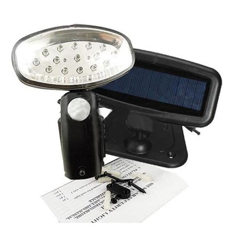 Rechargeable 15 Led Solar Power Light Pir Motion Sensor Solar Sensor Light With Pir
